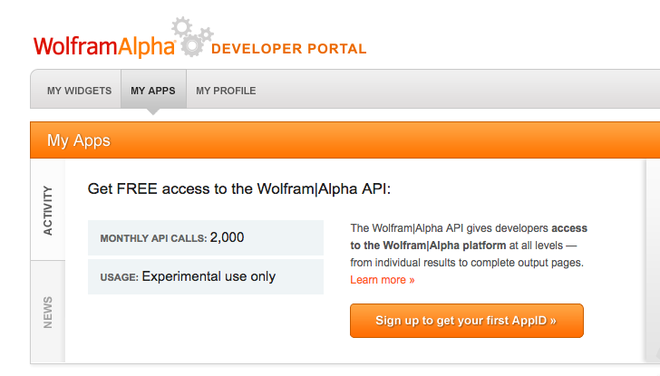 Wolfram get app ID